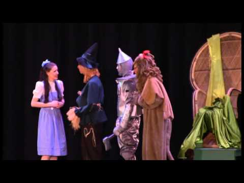 Kayla Paige Fuhst Carmel High School Wizard of Oz 4/2/16 Part 3 (видео)