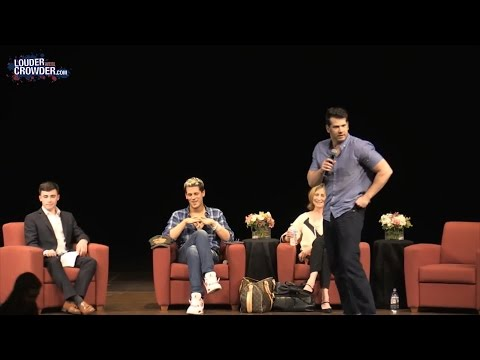Comedian Steven Crowder delivers epic Smackdown of Leftist protestors ever! WATCH SJWs get OWNED!