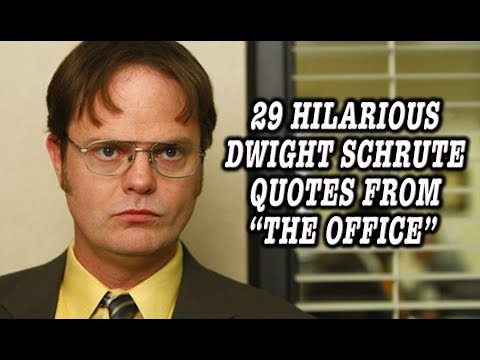 """29 Hilarious Dwight Schrute Quotes From """"The Office"""""""