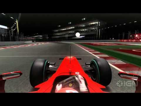 Pro Racing Driver Plays F1 2010