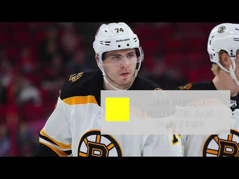 Video: Bruins vs. Stars preview: Jake DeBrusk, B's try to shake off road woes