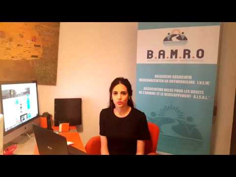 مديرة برنامج الشرق الأوسط في  بامرو السيدة  بافوو تُجيب عن  أهم  تساؤلاتكم
