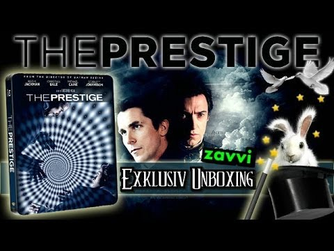 The Prestige - Zavvi Exclusive Limited Edition Steelbook Blu-Ray Unboxing