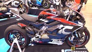 10. 2019 Ducati Panigale V4 S Ilmberger Carbon Accessorized - Walkaround - 2018 EICMA Milan