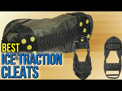 7 Best Ice Traction Cleats 2017