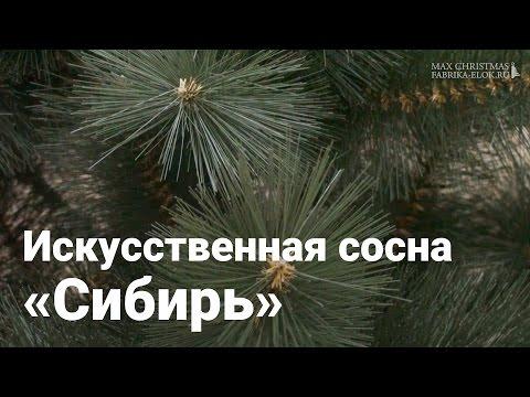 Искуственная сосна Макс Кристмас Сибирь, 120 см