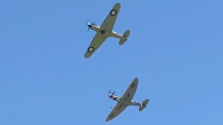 Scone Australia  city photos : Flight Of The Hurricane Airshow Highlights Scone, Australia (Watch until end for Hurricane)
