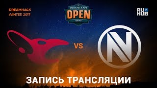 Mousesports vs EnVyUs - Dreamhack Winter 2017 - de_train [yXo, Enkanis]