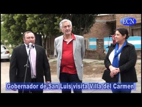 Inauguraron obras en Villa del Carmen