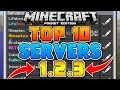 TOP 10 BEST SERVERS for Minecraft Pocket Edition (1.2+)