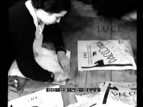 i pacchi per la befana fascista