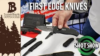First Edge knives introduced their new knives for the tactical and survival markets, with their innovative locking mechanisms, Elmax steel, and American craftsmanship.Learn more at www.firstedgeusa.comOfficial website, blog, and online store.www.inner-bark.comJoin me on social media to be up to date on the latest projects, news, and giveaways.Facebook- www.facebook.com/innerbarkTwitter- www.twitter.com/innerbarkPintrest- www.pintrest.com/innerbarkInstagram- www.Instagram.com/innerbark