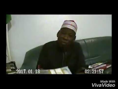 Gov  Ganduje of Kano caught taking bribe in another video