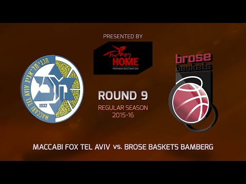 Highlights: RS Round 9, Maccabi FOX Tel Aviv 85-65 Brose Baskets Bamberg