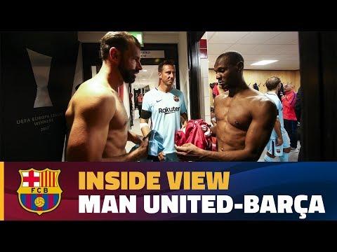[BEHIND THE SCENES] Manchester United Legends vs Barça Legends