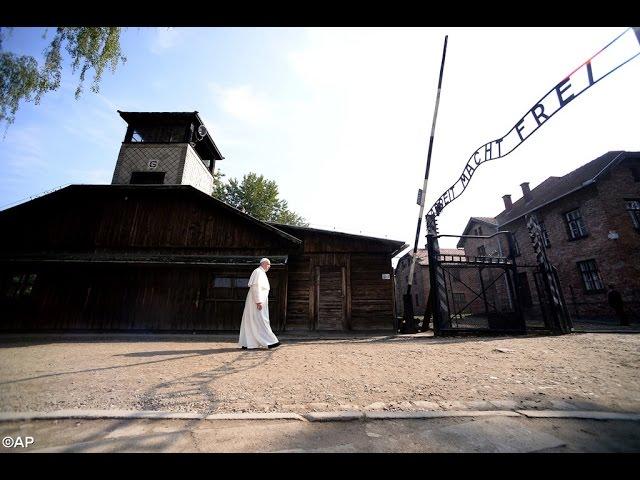 Papa Francisco visita campos de extermínio nazis (JMJ 2016)