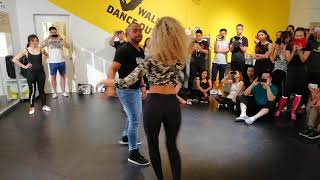 Lauv, Paris in the Rain - Carlos & Fernanda Brazilian Zouk Demo. Please share, like and comment it ;