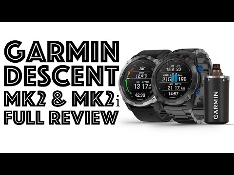 GARMIN DESCENT Mk2 & Mk2i FULL REVIEW - IS THIS THE GREATEST DIVE COMPUTER EVER MADE???