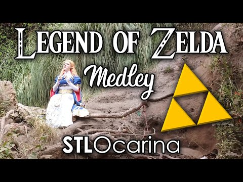Legend of Zelda Ocarina of Time Medley feat. Rachael Wilson On Stl Ocarina