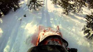 7. Breaking Trail on the King Cat With the GoPro