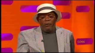 Samuel L Jackson, Sandra Bullock&Nick Frost On The Graham Norton Show (28th June 2013)