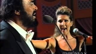 Download Lagu Luciano Pavarotti & Celine Dion - I Hate You Then I Love You Mp3