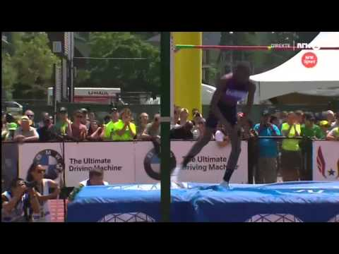 2.35 Mutaz Essa Barshim Diamond league EUGENE 2015