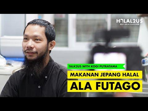 Talk2Us: Makanan Jepang Halal ala Futago with Kogi Putratama