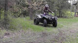 10. 2012 Yamaha Kodiak 450 specs and top speed