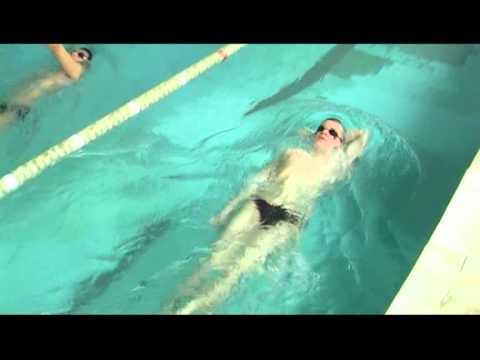 Техника плавания - Спина