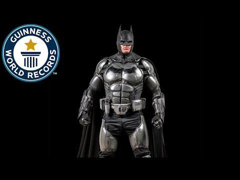 GadgetFilled Batman Suit Earns Guinness World
