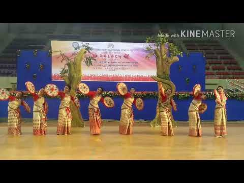 Video Bihu | national folk dance champion| Gauhati University | assam | download in MP3, 3GP, MP4, WEBM, AVI, FLV January 2017