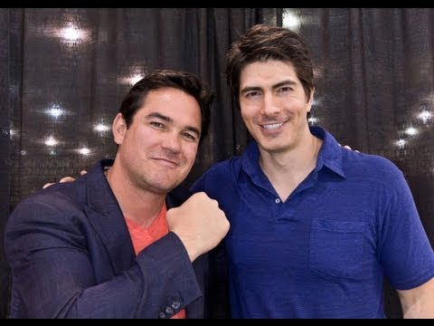 It's Superman Vs. Superman: Brandon Routh And Dean Cain