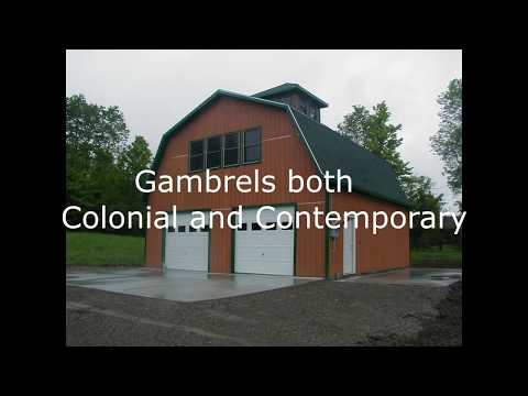 Gambrel and Cape Garages