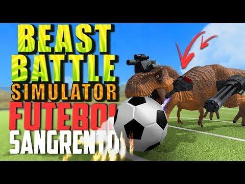 FUTEBOL, ANIMAIS CONTRA DINOSSAUROS! - Beast Battle Simulator ‹ Bitgamer ›