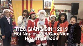 Tiệc Giáng Sinh 2019 Hội Cao Niên vùng HTĐ