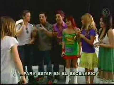 RBD y Hilary Duff juntos