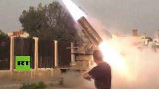 Siria: El ejército comienza un bombardeo a posiciones