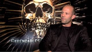 Expendables 2 - Jason Statham Interview (JoBlo.com)