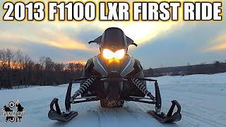 6. 2013 Arctic Cat F1100 FIRST RIDE Review