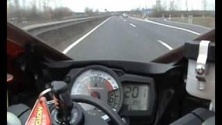 10. Suzuki GSX-R 600 Top Speed