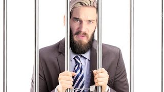 Guess I'm going to jail... (PEWNEWS) By Pewdiepie (Roast Ninja again) ft Muzic The Gamer REACTION!