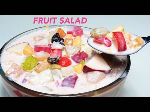 FRUIT SALAD FILIPINO STYLE | CREAMY FRUIT SALAD