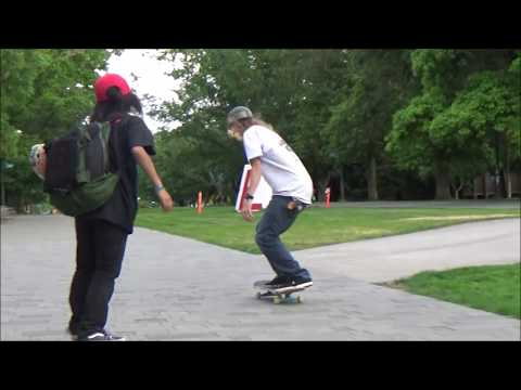 Isamu Yamamoto : Fun SK8 with Andy Anderson (2016 in BC, Canada)