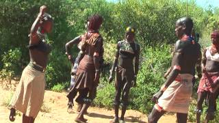 South Ethiopia-Tribal Civilization-Third Part-Hamer Tribe-Bull Jumping Ceremony-Full HD