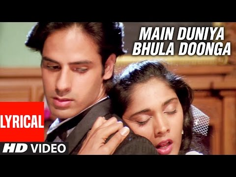 Download Main Duniya Bhula Doonga - Lyrical Video Song || Aashiqui | Rahul Roy, Anu Agarwal HD Mp4 3GP Video and MP3