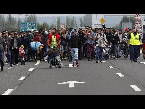 Συνεχίζονται οι προσπάθειες των μεταναστών να φύγουν από την Ουγγαρία