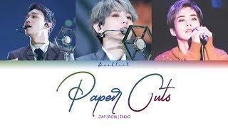 Video EXO CBX - Paper Cuts (JPN/ROM/INDO Color Coded Lyrics/가사) MP3, 3GP, MP4, WEBM, AVI, FLV Agustus 2019