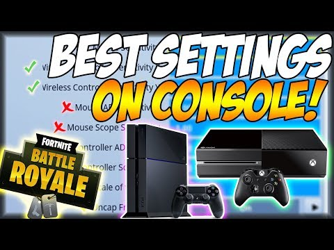Best Settings To Use In On Console Fortnite Battle