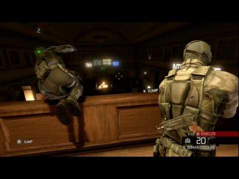 Splinter Cell Conviction - Co-op Walkthrough Video (видео)